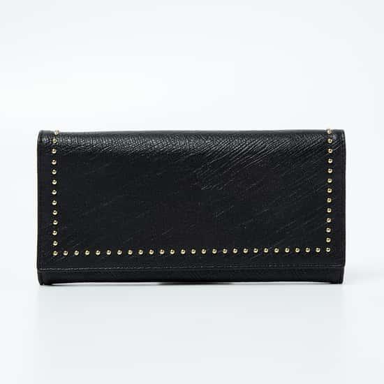 GINGER Textured Studded Wallet