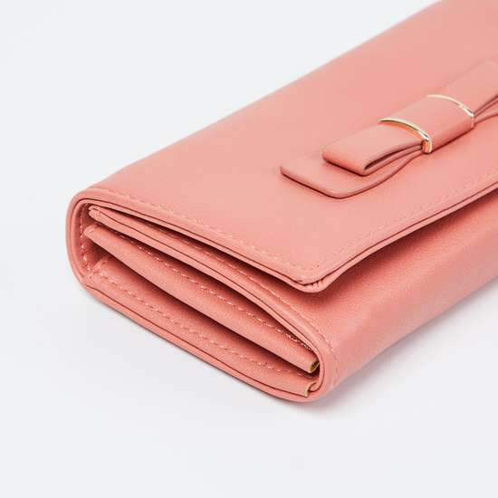 GINGER Bow Detailed Wallet