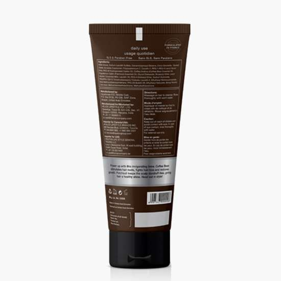 THE MAN COMPANY Coffee Bean and Patchouli Shampoo - 200 ml