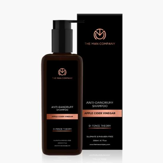 THE MAN COMPANY Anti-Dandruff Shampoo - Apple Cider Vinegar - 200 ml