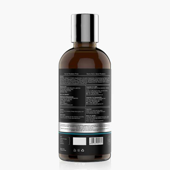 THE MAN COMPANY Charcoal Shampoo - Peppermint and Clove - 250 ml