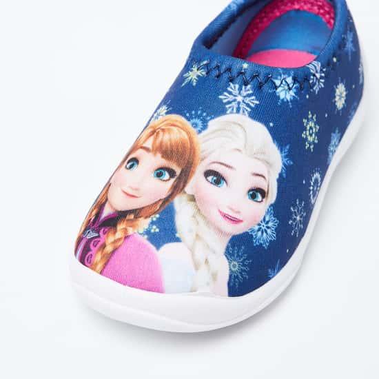 FAME FOREVER Frozen Print Slip-On Shoes