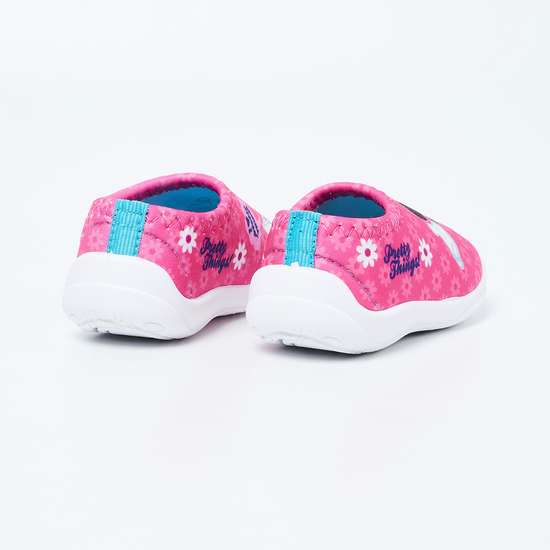 FAME FOREVER Minnie Mouse Print Slip-On Shoes