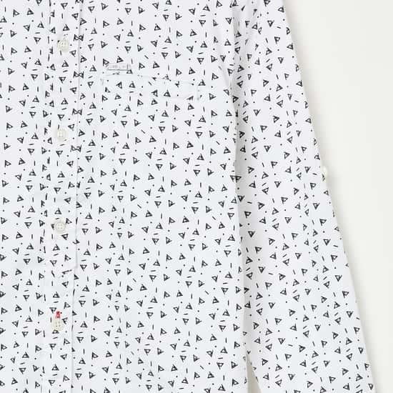GINI & JONY Printed Full-Sleeves Shirt