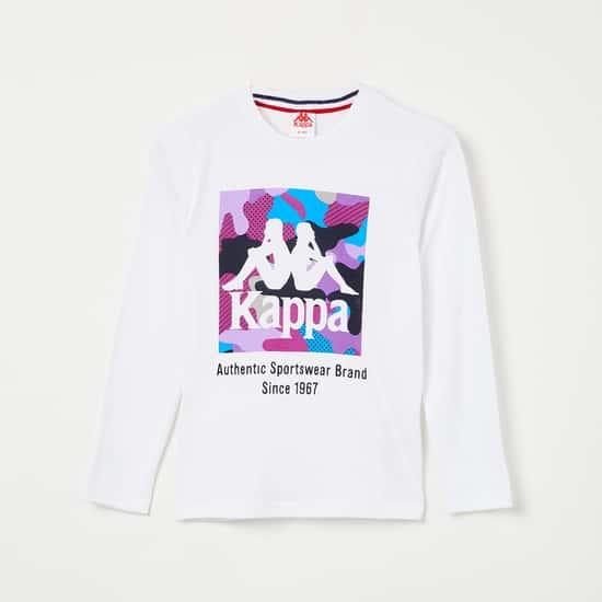 KAPPA Printed Long Sleeves T-shirt