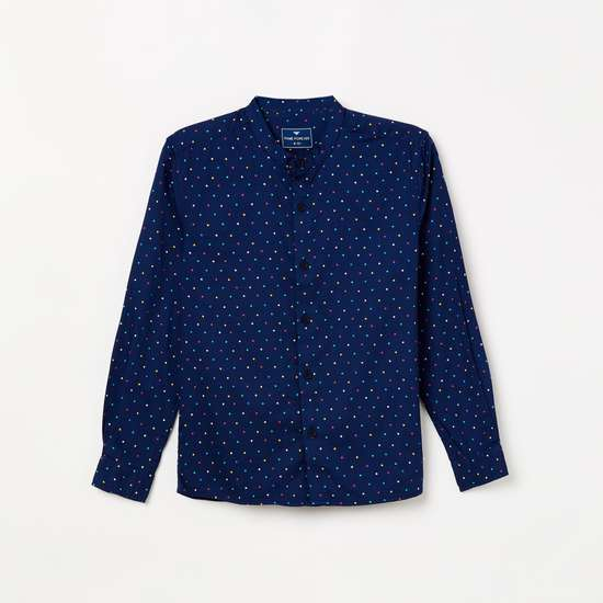 FAME FOREVER YOUNG Printed Casual Shirt