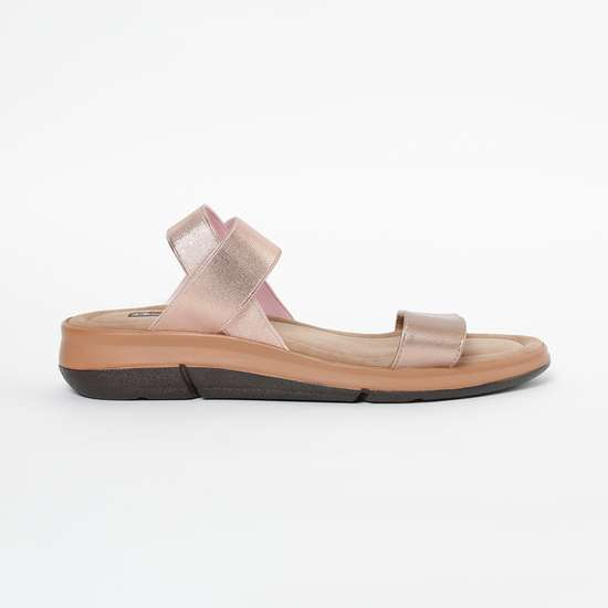 RAW HIDE Textured Slingback Sandals