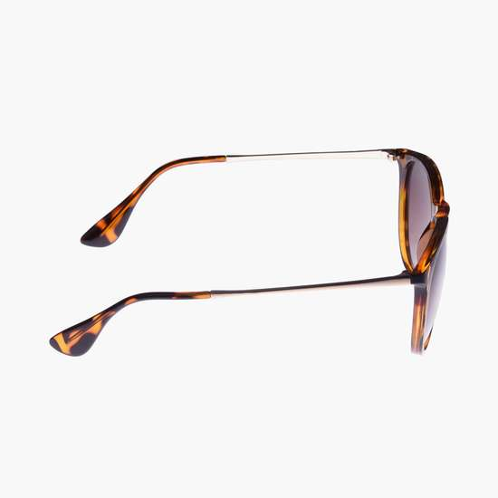 GIORDANO Women UV-Protected Oval Sunglasses - GA90238C03