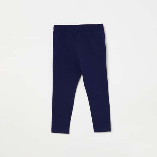 FS MINI KLUB Striped Drop-Waist Top with Leggings
