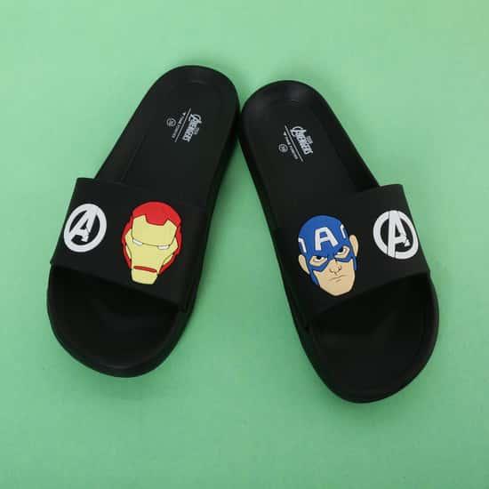 FAME FOREVER Avengers Print Slippers