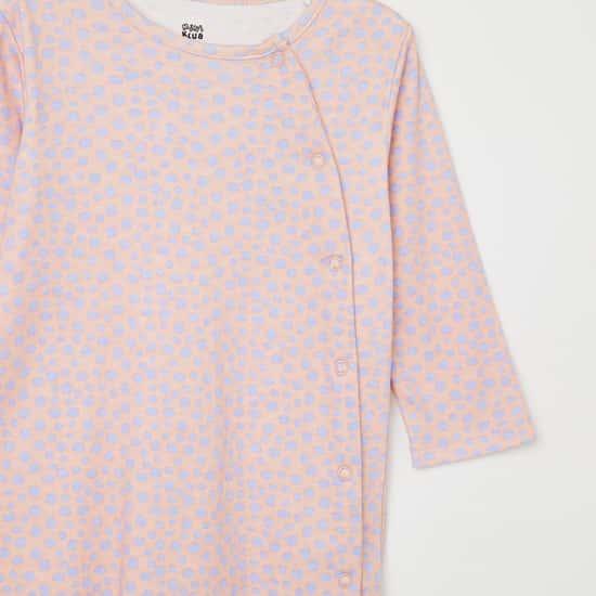 FS MINI KLUB Printed Sleepsuit - Pack of 2 Pcs.