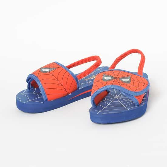FAME FOREVER Spiderman Print Slingback Slippers