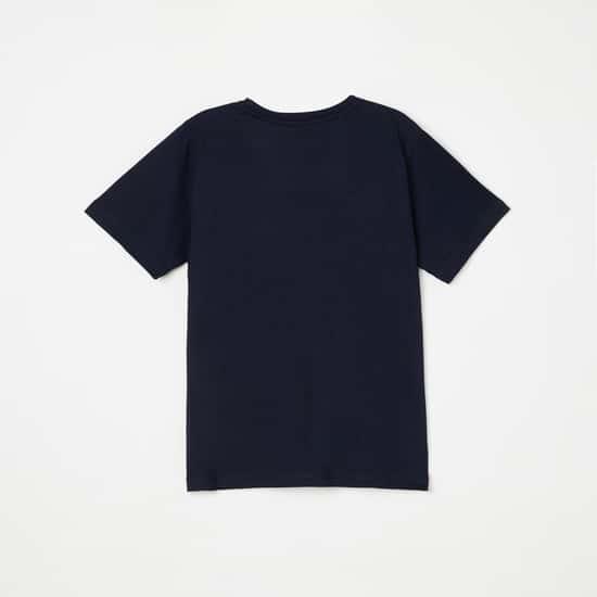 KIDSVILLE Printed Crew Neck T-shirt