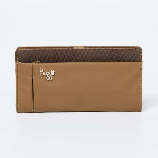 BAGGIT Colourblock Bi-Fold Wallet