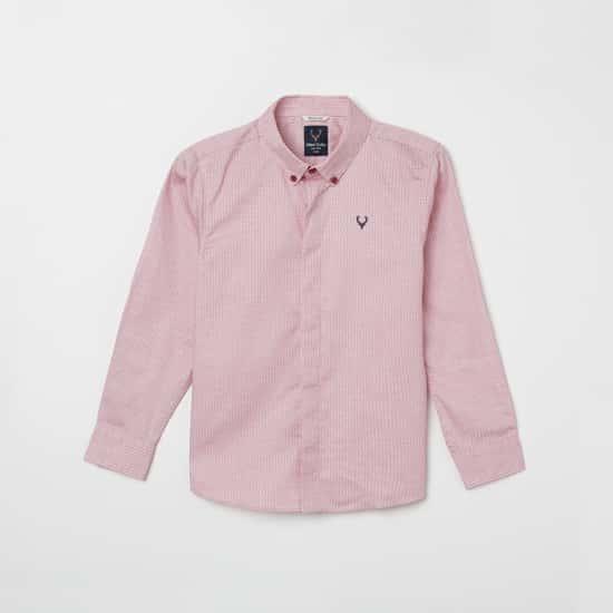 ALLEN SOLLY Printed Full Sleeves Shirt