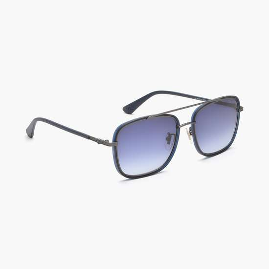 POLICE Men UV-Protected Square Sunglasses- SPL871K55627B