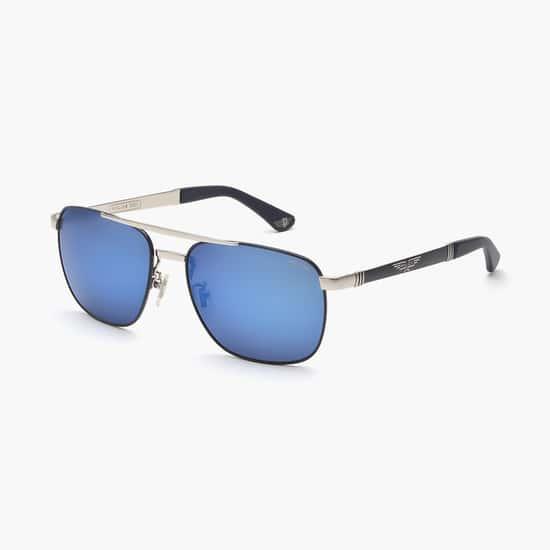 POLICE Men UV-Protected Square Sunglasses- SPL890K58F94B
