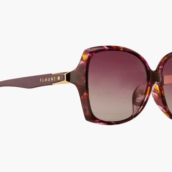 FEMINA FLAUNT Women UV-Protected Butterfly Sunglasses- 9004-C1