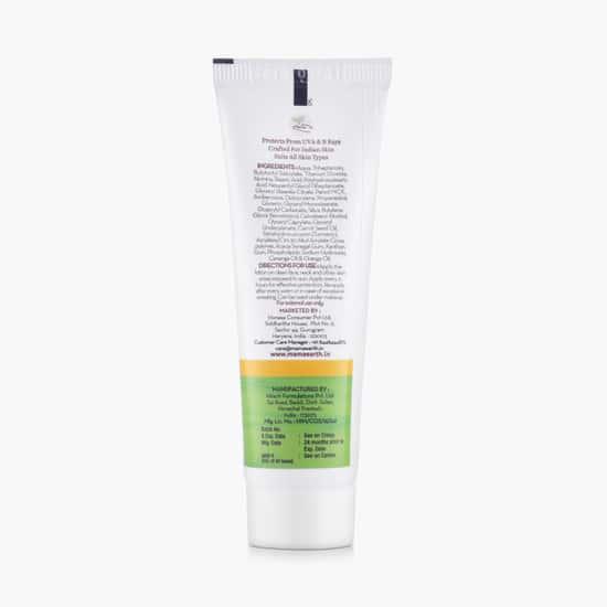 MAMAEARTH Ultra Light India Sunscreen