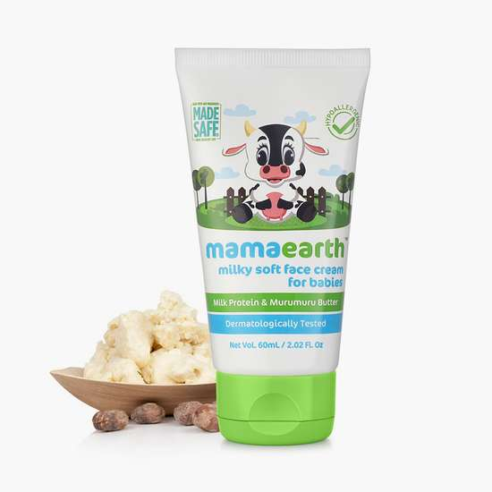 MAMAEARTH Milky Soft Baby Face Cream