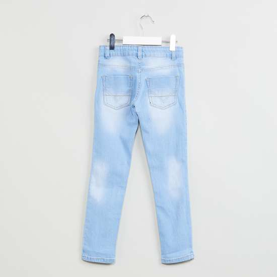 MAX Stone Washed Low-Rise Jeans