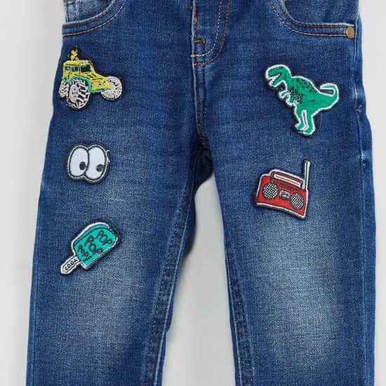 MAX Applique Detail Jeans