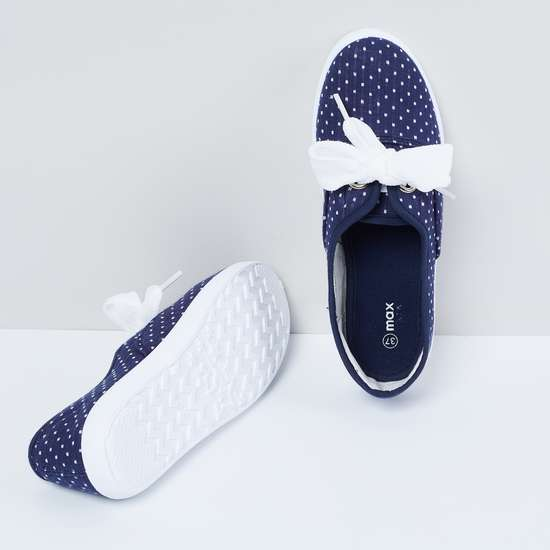 MAX Patterned Weave Low-Top Casual Shoes
