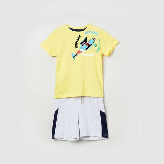 MAX Printed T-shirt with Shorts
