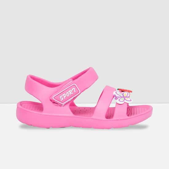 MAX Applique Detailed Sandals
