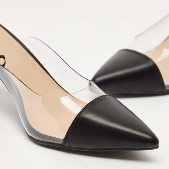 حذاء ميول سادة بكعب صغير