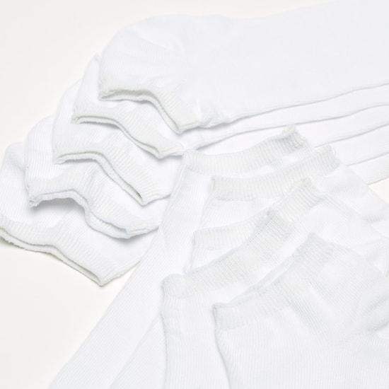 طقم جوارب بطول الكاحل 10 أزواج