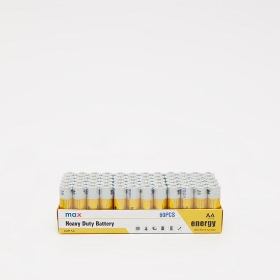حزمة بطارية 60 قطعة- AA  من هيفي ديوتي