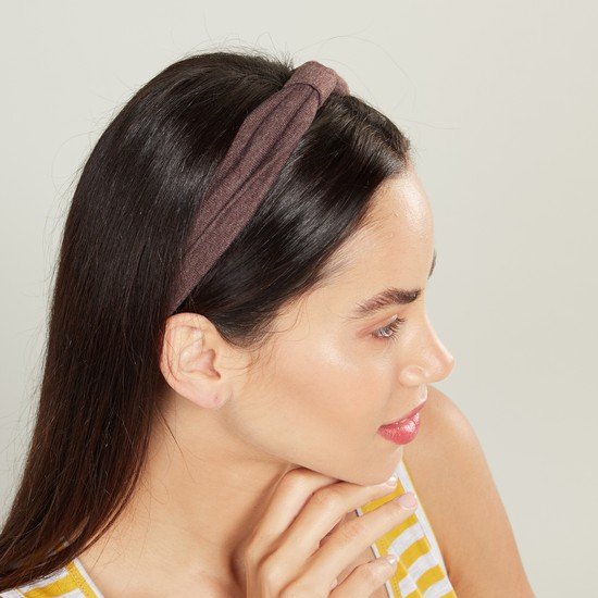 Set of 2 - Knot Detail Hairband