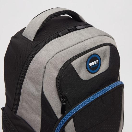 Printed Backpack with Adjustable Shoulder Straps