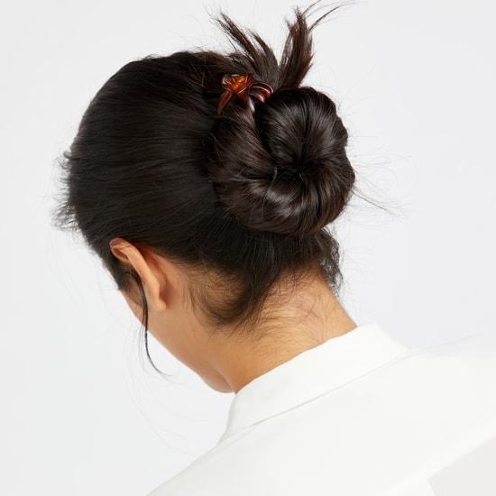 مشابك شعر متنوعة  - طقم من 4 قطع