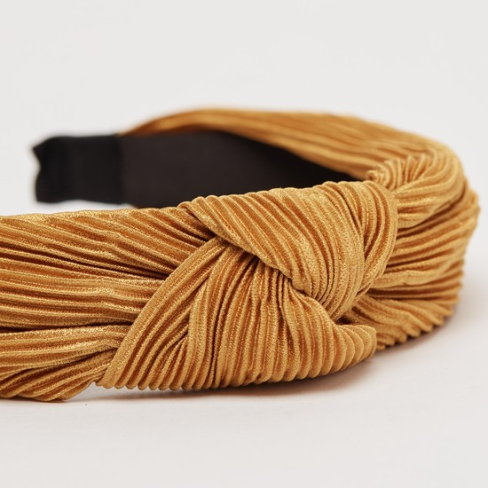 Textured Knot Detail Hairband