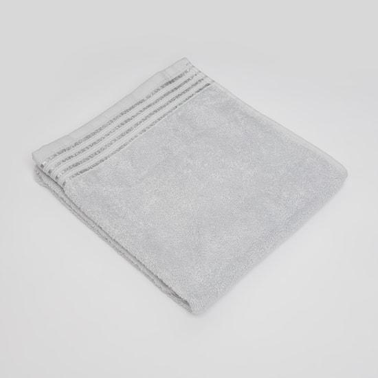 منشفة يد بارزة الملمس بتقليمات جليتر - 80x50 سم