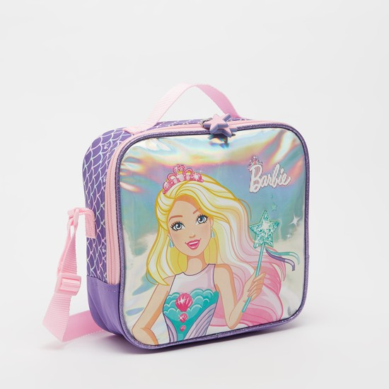 Barbie Print Lunch Bag with Adjustable Strap