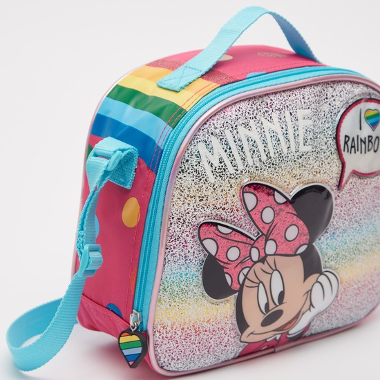 Minnie Mouse Print Lunch Bag