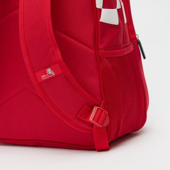 Ferrari Print Backpack with Adjustable Shoulder Straps - 16 Inches