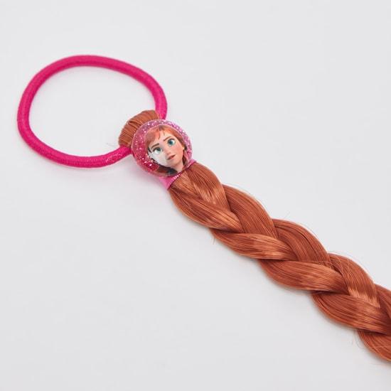Frozen Elastic Round Hair Tie with Braid Extension