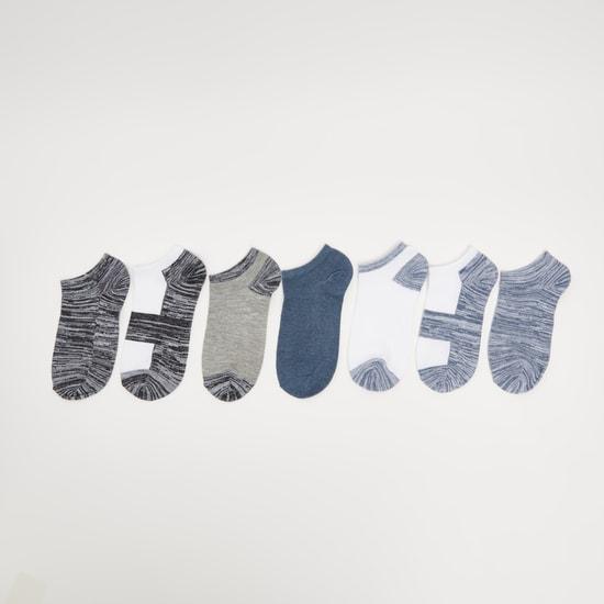 جوارب متنوعة بطول الكاحل - طقم من 7 أزواج