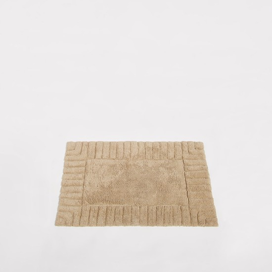 سجادة حمام مستطيلة بارزة الملمس - 80x50 سم