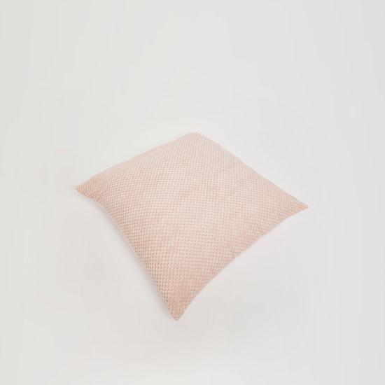 وسادة محشوة مربعة بارزة الملمس - 45x45 سم