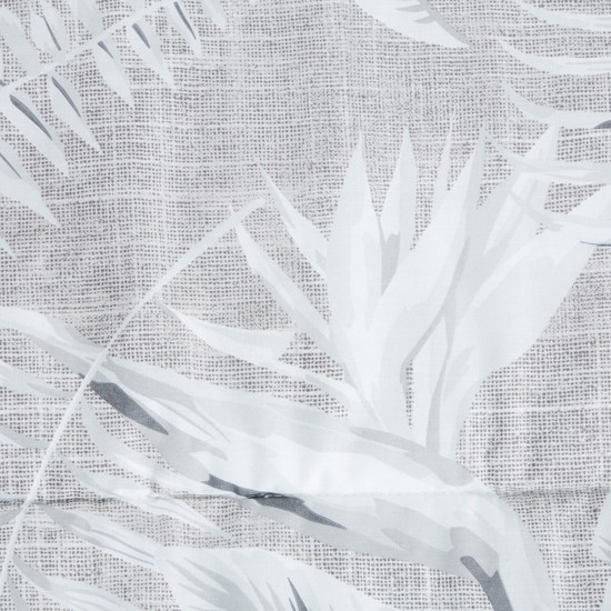 Leaf Print 3-Piece King Comforter Set - 230x220 cms