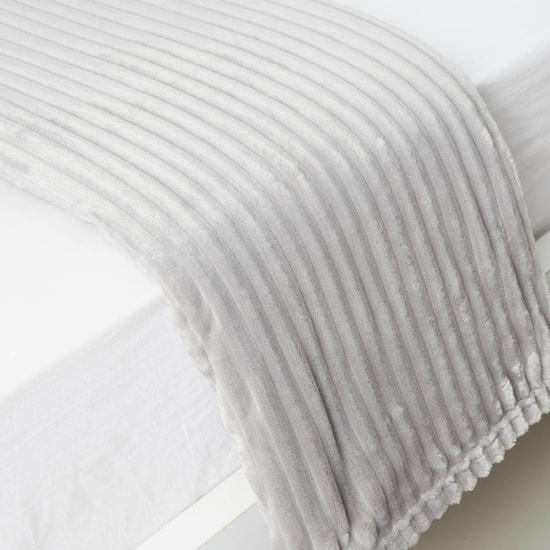 بطانية فردية مستطيلة مبطنة - 200x150 سم