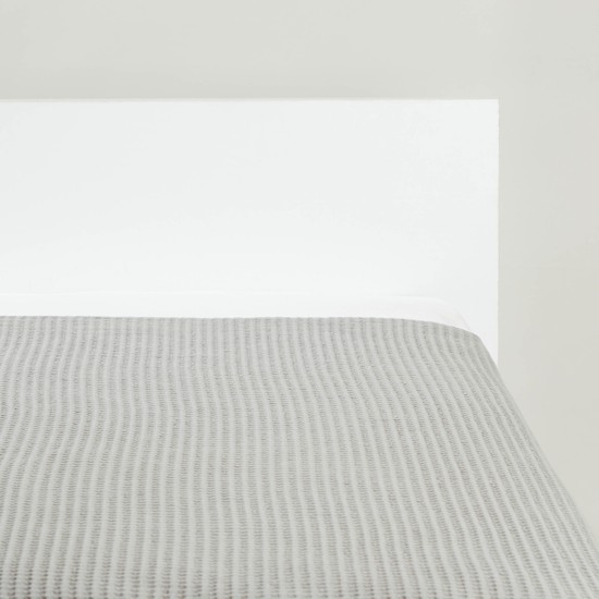 بطانية خفيفة بقوالب ملونة  - 152x127 سم