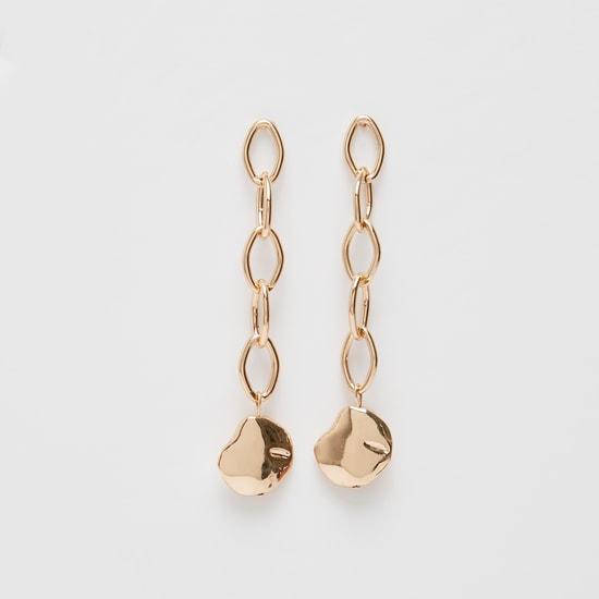 Chain Link Drop-Earrings