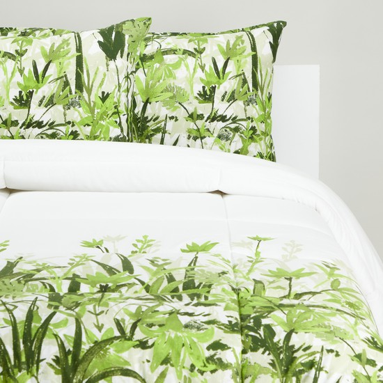 Printed 3-Piece Comforter Set - 220x160 cms