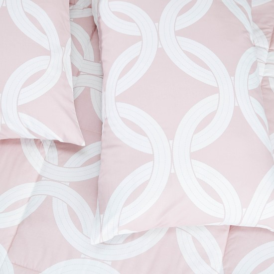 Printed 2-Piece Single Size Comforter Set - 220x160 cms